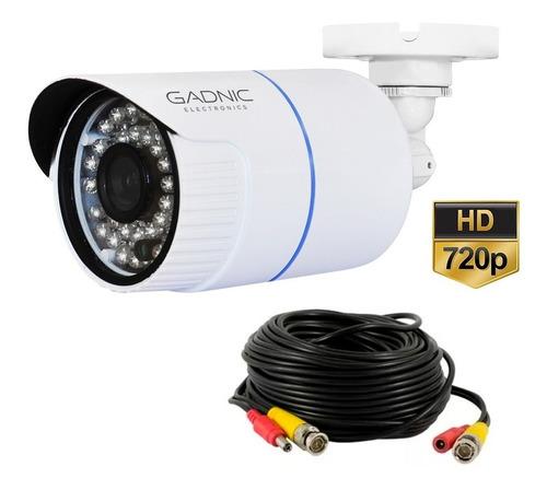 camara dvr gadnic p2p00026 720p sensor 30mts noche externa
