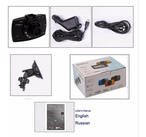 camara dvr grabador para auto dashcam g30 vision nocturna
