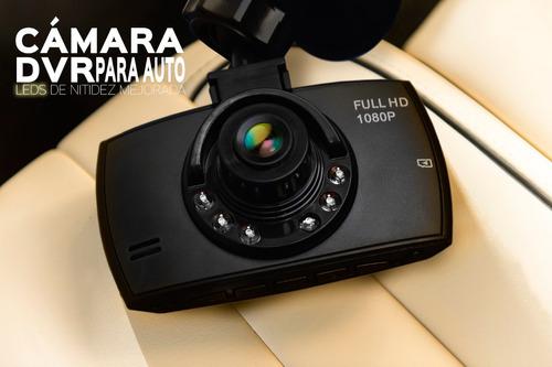 cámara dvr para auto 2.4 leds infra rrojos seguridad
