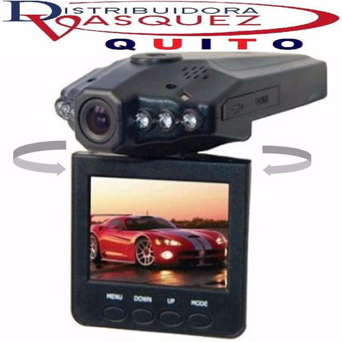 camara dvr para carro full hd 1080p focos led