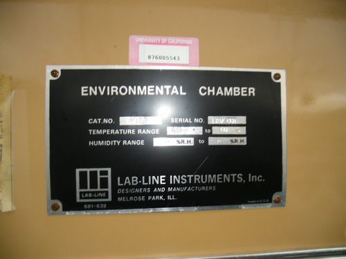 camara ecologica marca environmental chamber casi nueva