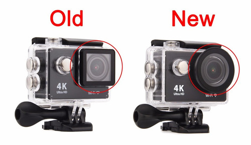 camara eken h9 original, ultima version 4k sumergible