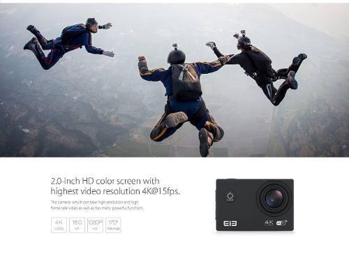 camara elephone 4k ultra hd deportes wifi ip68 100% original