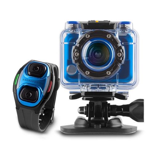 cámara energy sistem sport cam pro-azul