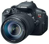 camara eos t5i 18mp, lcd 3, full hd, 24p/kit lente 18-135 mm
