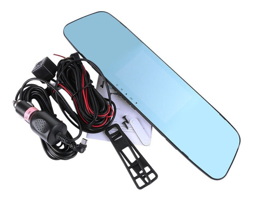 camara espejo retrovisor  4 led vision noctura tactil