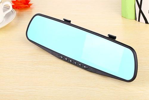 camara espejo retrovisor pantalla led + camara de retroceso