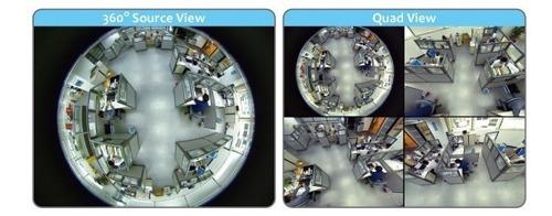 camara espia 360° foco lampara led - wifi - con sonido