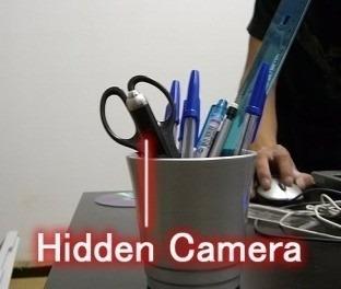 cámara espía bolígrafo lapicero dvr grabador de video