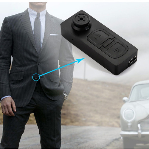 cámara espía botón dvr grabador de video digital