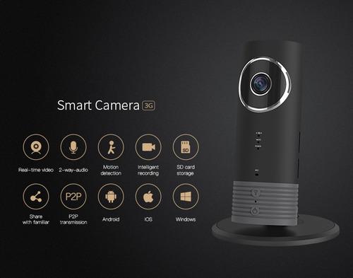 cámara espia con 2hs de batería chip 3g y micro sd procámara