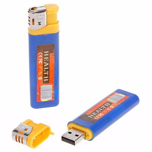 camara espia encendedor 4 en 1 mini lente sony hd hasta 32gb