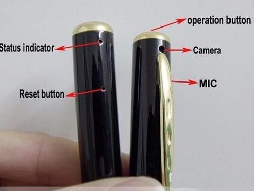 cámara espía esfero espia microsd video con audio y fotos
