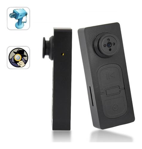 camara espia oficina inalambrica seguridad casa oculta boton fotografía filma graba audio bateria interna