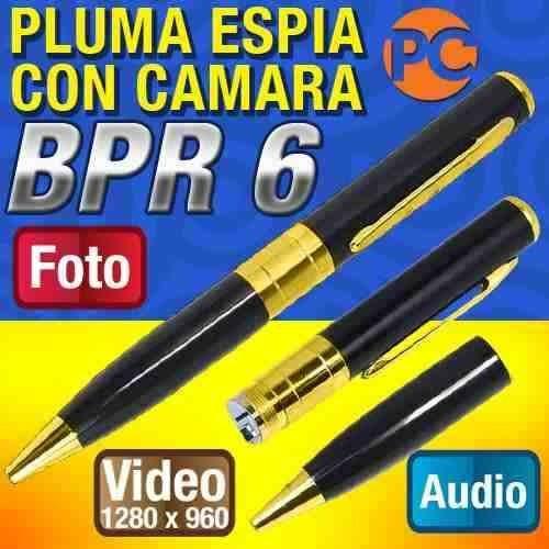 cámara espía pluma