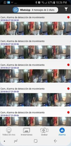 cámara espia reloj graba hd 1080 + llavero alarma de regalo