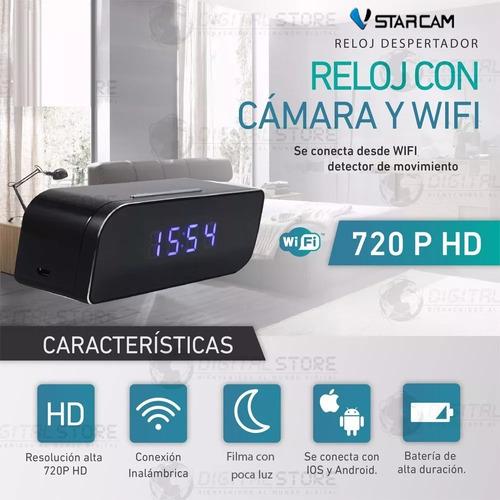 camara espia reloj wifi mini inalambrica seguridad celular