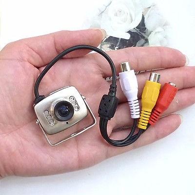 camara espía seguridad audio