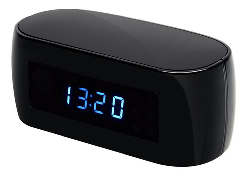 cámara espia seguridad reloj tipo despertador 1080p wifi hd
