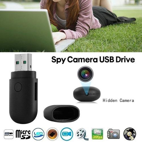 cámara espía tipo memoria usb / sensor movimiento / micrófon