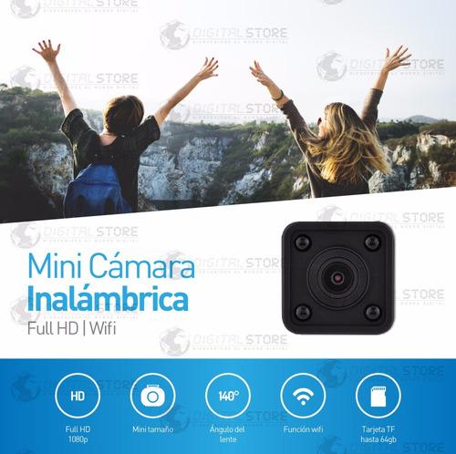 camara espia wifi celular inalambrica seguridad full hd mini