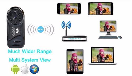 camara espia wifi p2p ip vision nocturna sensor inalámbrica