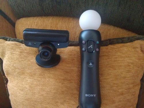 cámara  eye ps3  mas palanca move control originales