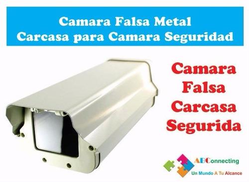 Camara falsa metal carcasa para camara seguridad 350 - Camaras de seguridad falsas ...