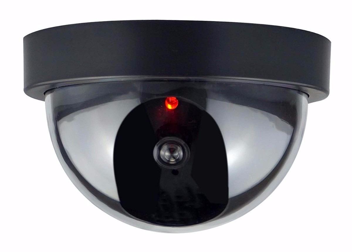 Camara falsa domo inalambrica seguridad vigilancia for Camara vigilancia inalambrica