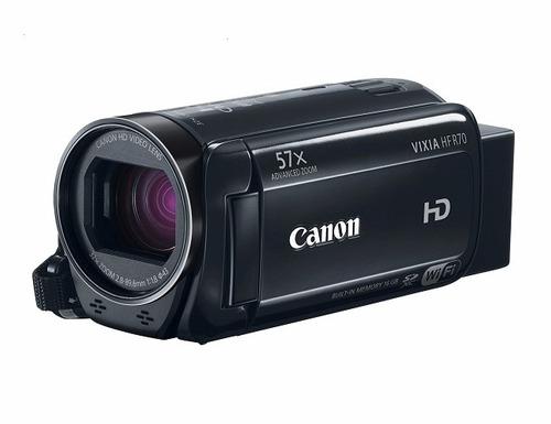 camara filmadora canon vixia hf-r70 nueva sellada