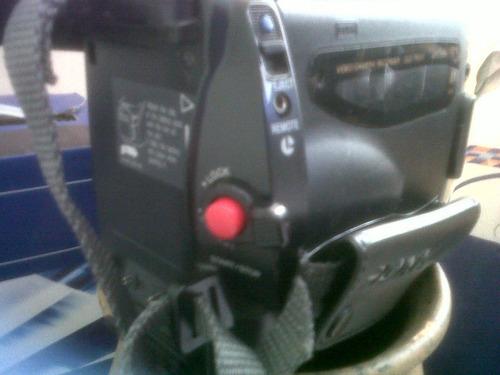 camara filmadora handycam video 8  de 10x.