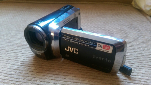 camara filmadora jvc everio hd gz-ms130bu display dañado