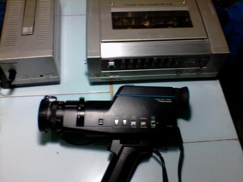 camara filmadora panasonic año 1984