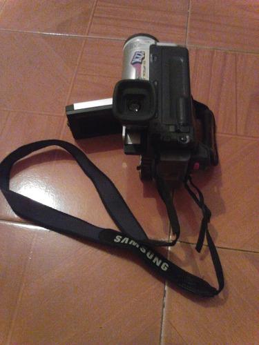 camara filmadora samsung con estuche y accesorios 15 vrd