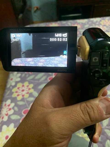 camara filmadora sanyo