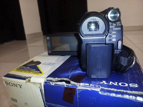camara filmadora sony handycam dcr-dvd810