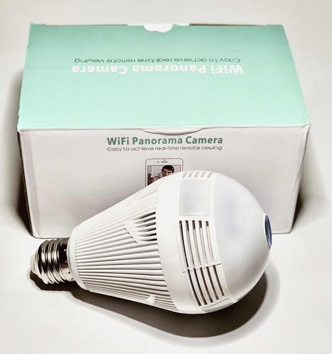 camara foco ip 360 hd  wifi iluminacion seguridad espia