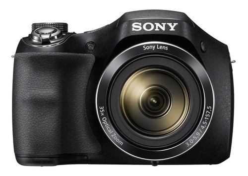 cámara fotografía sony de 20.1mp hi-zoom de 35x - dsc-h300