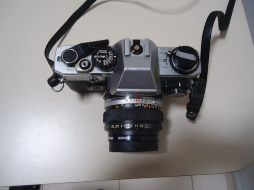 camara fotografica analogica olympus om-10