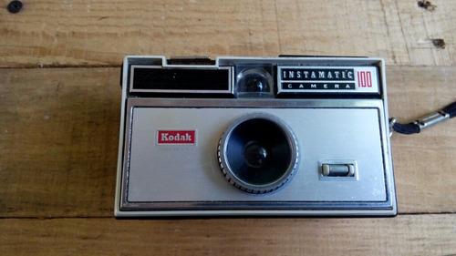 camara fotografica antigua kodak instamatic 100camara