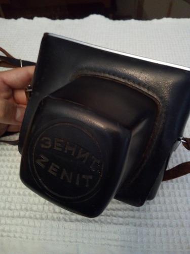 cámara fotográfica antigua marca zenit