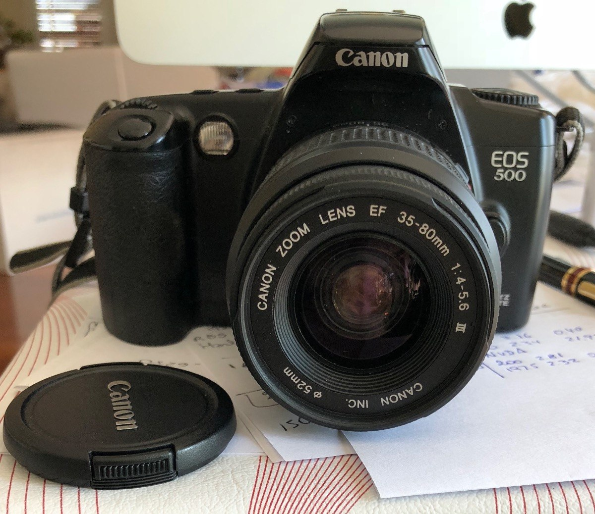 Analogkameras Canon Eos 500 Foto & Camcorder