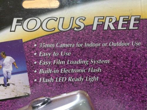 cámara fotográfica con flash 35mm focus free mi alegría
