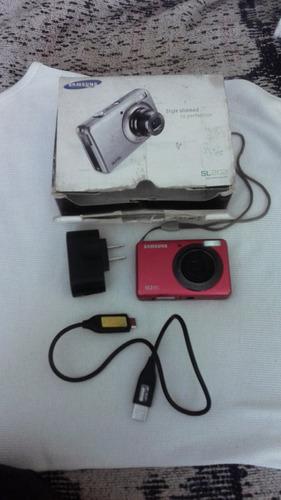 camara fotografica de 10 mpx color rojo marca samsung