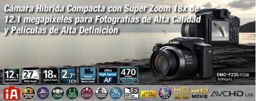 camara fotografica de marca panasonic modelo fz35