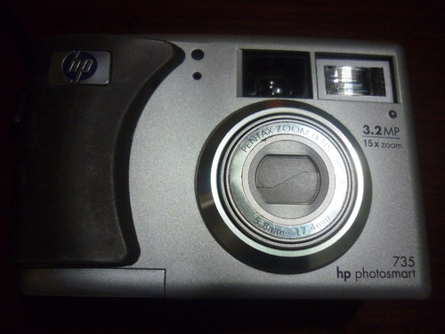 camara fotográfica digital marca hp, operativa.
