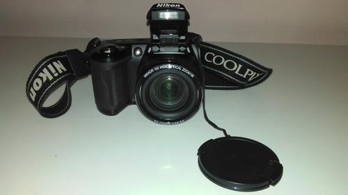 cámara fotográfica digital nikon coolpix l110 semiprofesiona