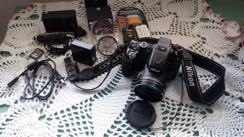 camara fotografica digital nikon coolpix p600 16.1 mp wi-fi