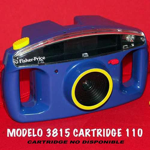cámara fotográfica fisher-price años 90 sin cartridge usada