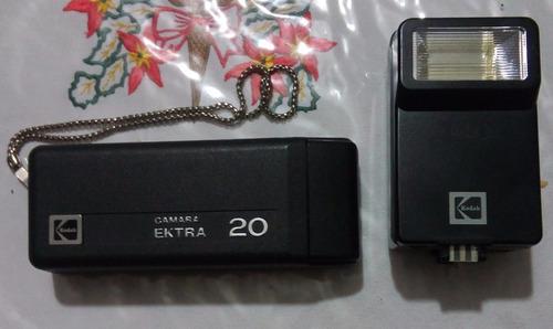 cámara fotográfica kodak ektra 20. vintage